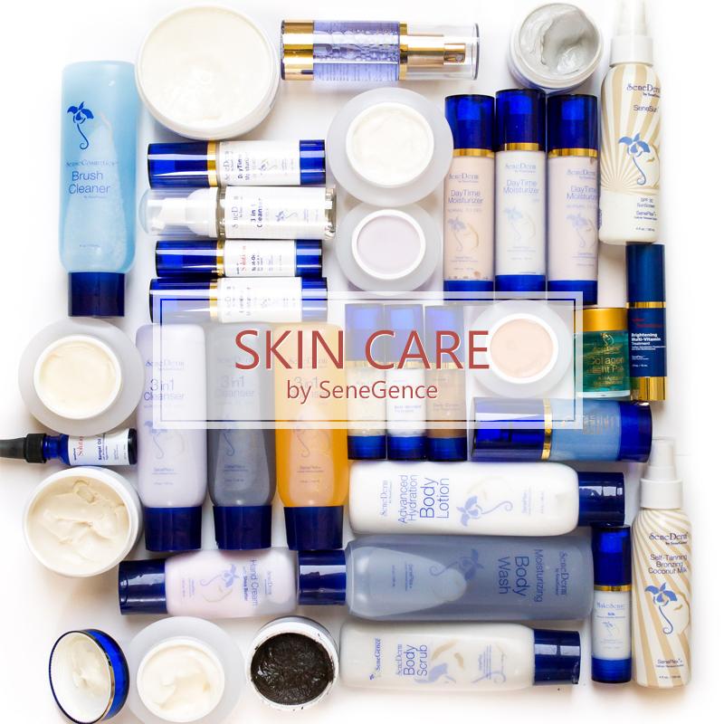 Senegence Skin Care Senederm Glossy Posse Makeup